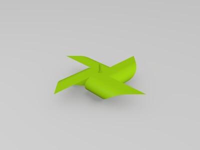 风车-3d打印模型