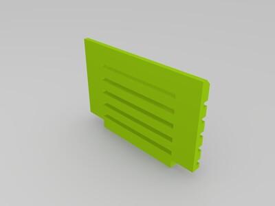 學生課椅-3d打印模型