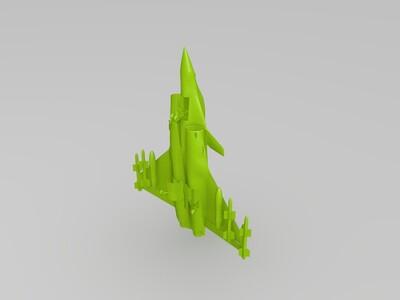 新版阵风b战斗机模型-3d打印模型