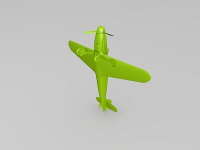 109战斗机-3d打印模型