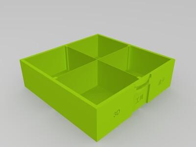 3D工具盒子-3d打印模型