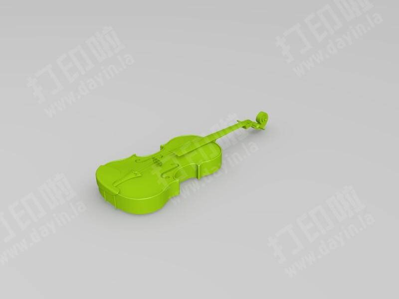 小提琴-3d打印模型