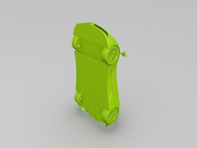 帕加尼威龙超跑车模-3d打印模型