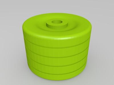 汽车玩具拼装-3d打印模型
