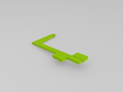 风中钓鱼的小人-3d打印模型
