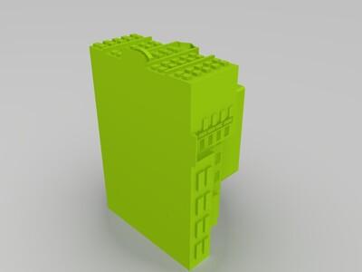 无锡女子一中-3d打印模型