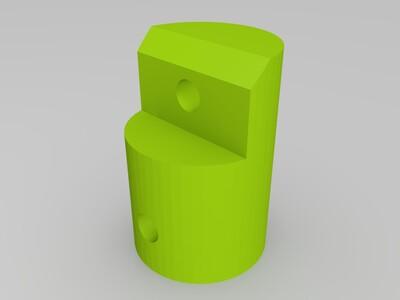 伺服制动爪-3d打印模型