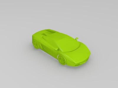 兰博基尼跑车-3d打印模型