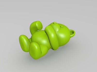 小熊维尼-3d打印模型
