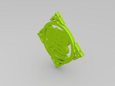 """""""福""""字挂坠-3d打印模型"""