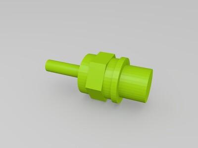 涡喷模型-3d打印模型