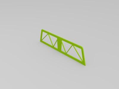 蒙皮飞机-3d打印模型