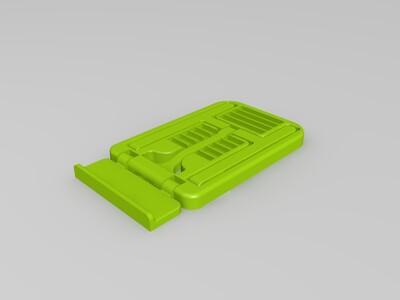 便携式一体打印角度可调式手机支架-3d打印模型