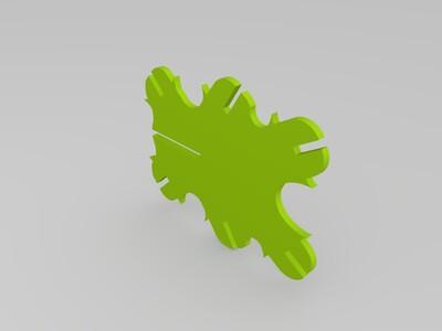 拼装蜻蜓-3d打印模型