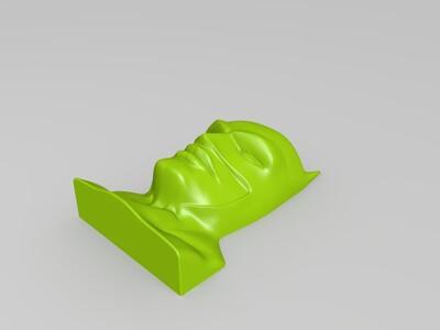 蝙蝠侠面具-3d打印模型