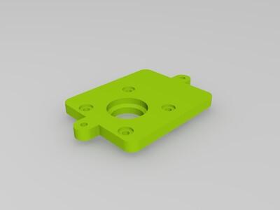 ultimaker2底座-3d打印模型