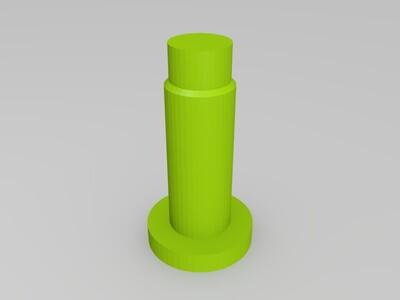 两冲程内燃机模型-3d打印模型