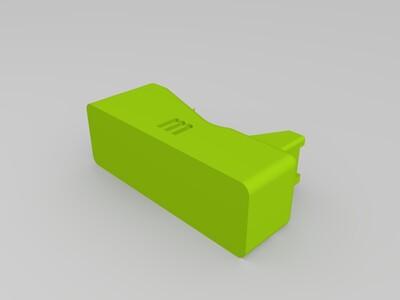 胶带剪切装置-3d打印模型