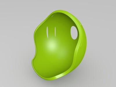 可打印的骑行帽-3d打印模型
