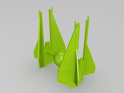 星球大战飞机-3d打印模型