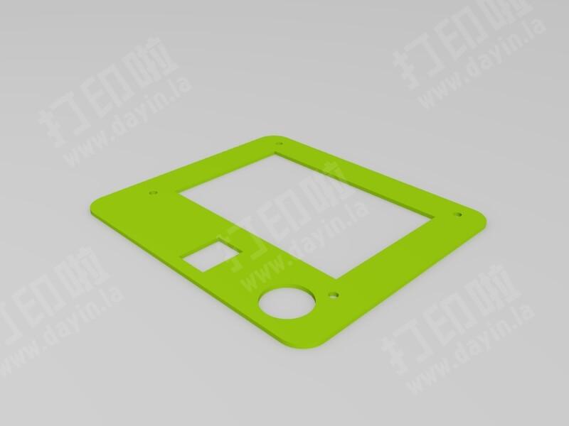 12864液晶支架-3d打印模型