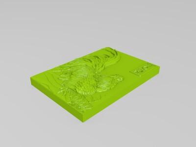 西鸡   鸡年大吉吧-3d打印模型
