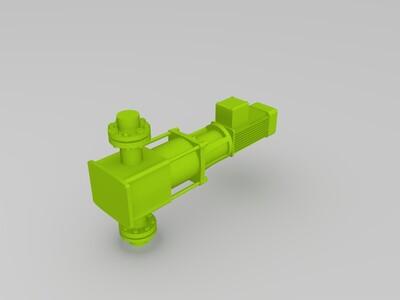 补水泵-3d打印模型