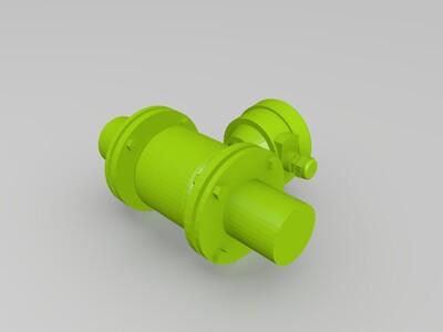流量计-3d打印模型