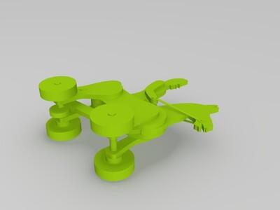 会动的骑马人-3d打印模型
