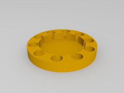 神奇磁铁阵列生成类似悬浮效果-3d打印模型