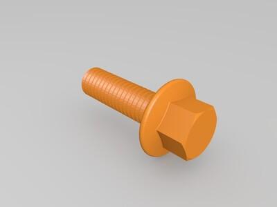 可打印的差速器模型-3d打印模型