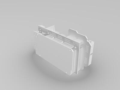ramps1.4电路板-3d打印模型