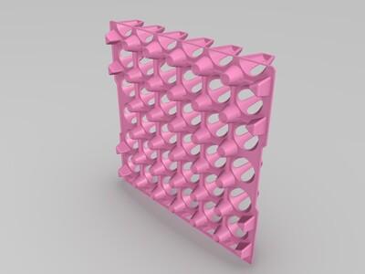 鸡蛋放置器皿-3d打印模型