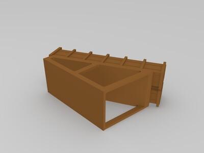 巡逻舰-3d打印模型