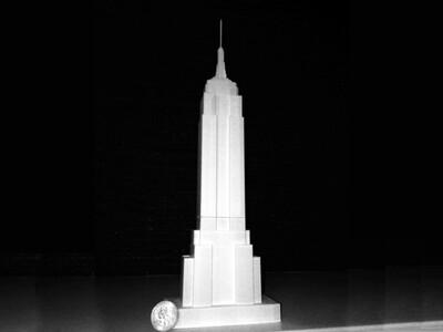 巴黎著名的建筑(集)-3d打印模型