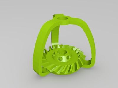 可以打印的行星减速齿轮-3d打印模型