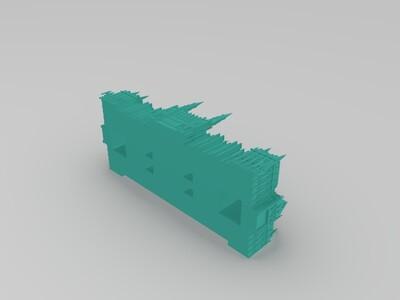 布达佩斯-3d打印模型