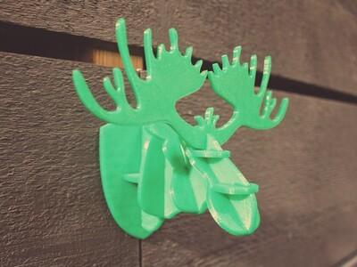 挂墙鹿头3D拼图