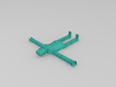 机器人 一体可动-3d打印模型