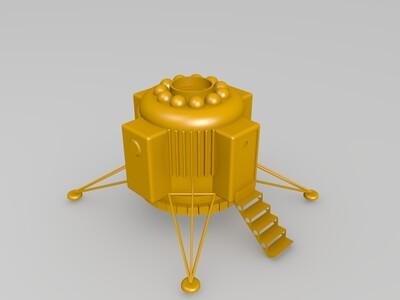 模块化的火星基地-3d打印模型