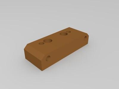 3D打印机MK8挤出机-3d打印模型