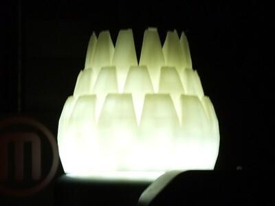 松塔灯-3d打印模型