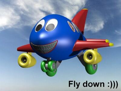 玩具飞机-3d打印模型