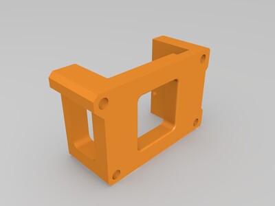 全线规xy结构打印机打印件-3d打印模型