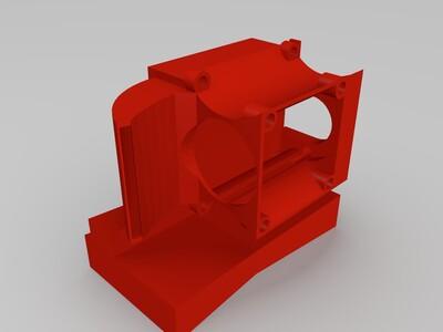 k800散热导流罩-3d打印模型