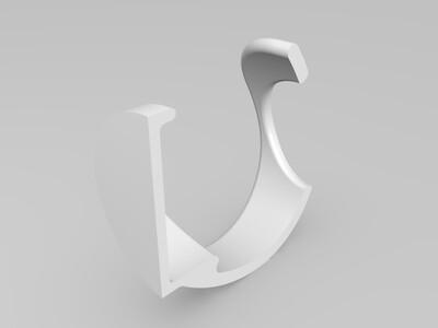 简约笔筒-3d打印模型