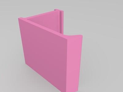 L形手机支架-3d打印模型