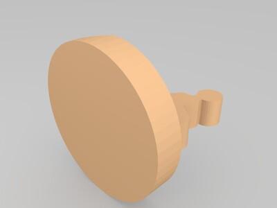 功夫小子 手机支架-3d打印模型