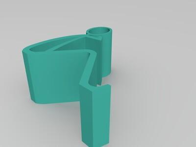 小人手机支架 改-3d打印模型