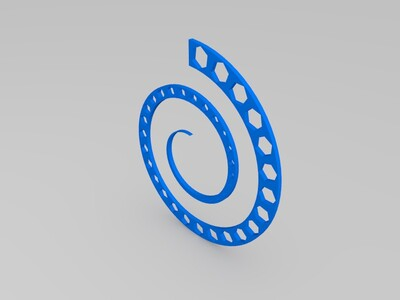 随形阵列零件-3d打印模型